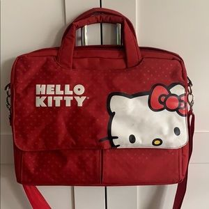 Hello Kitty Red Computer carry bag